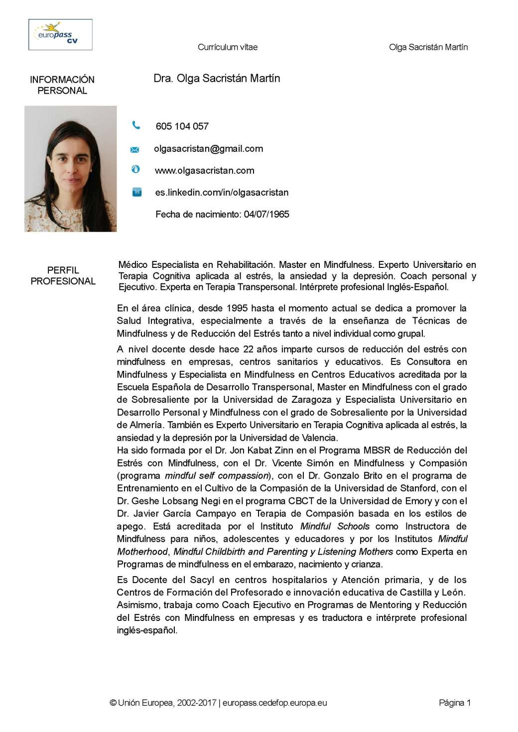 CURRICULUM EUROPASS DRA. OLGA SACRISTAN 2017_Página_01