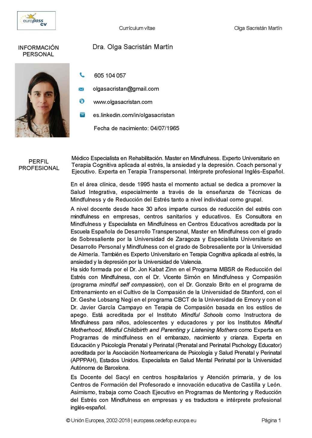 CURRICULUM EUROPASS DRA. OLGA SACRISTAN 2019_Página_01