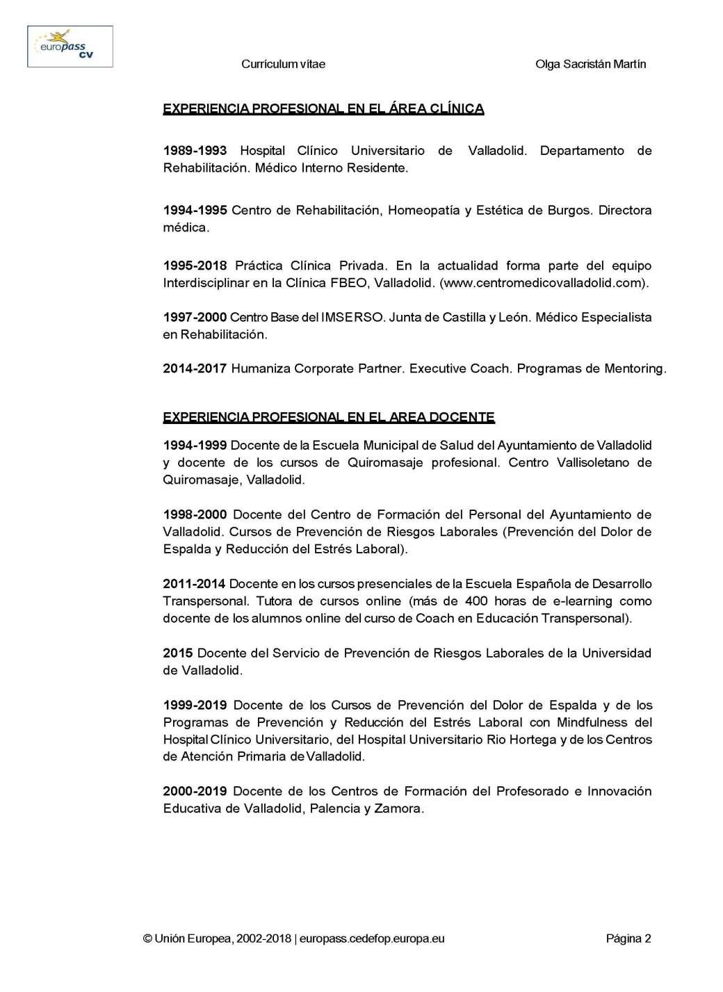 CURRICULUM EUROPASS DRA. OLGA SACRISTAN 2019_Página_02