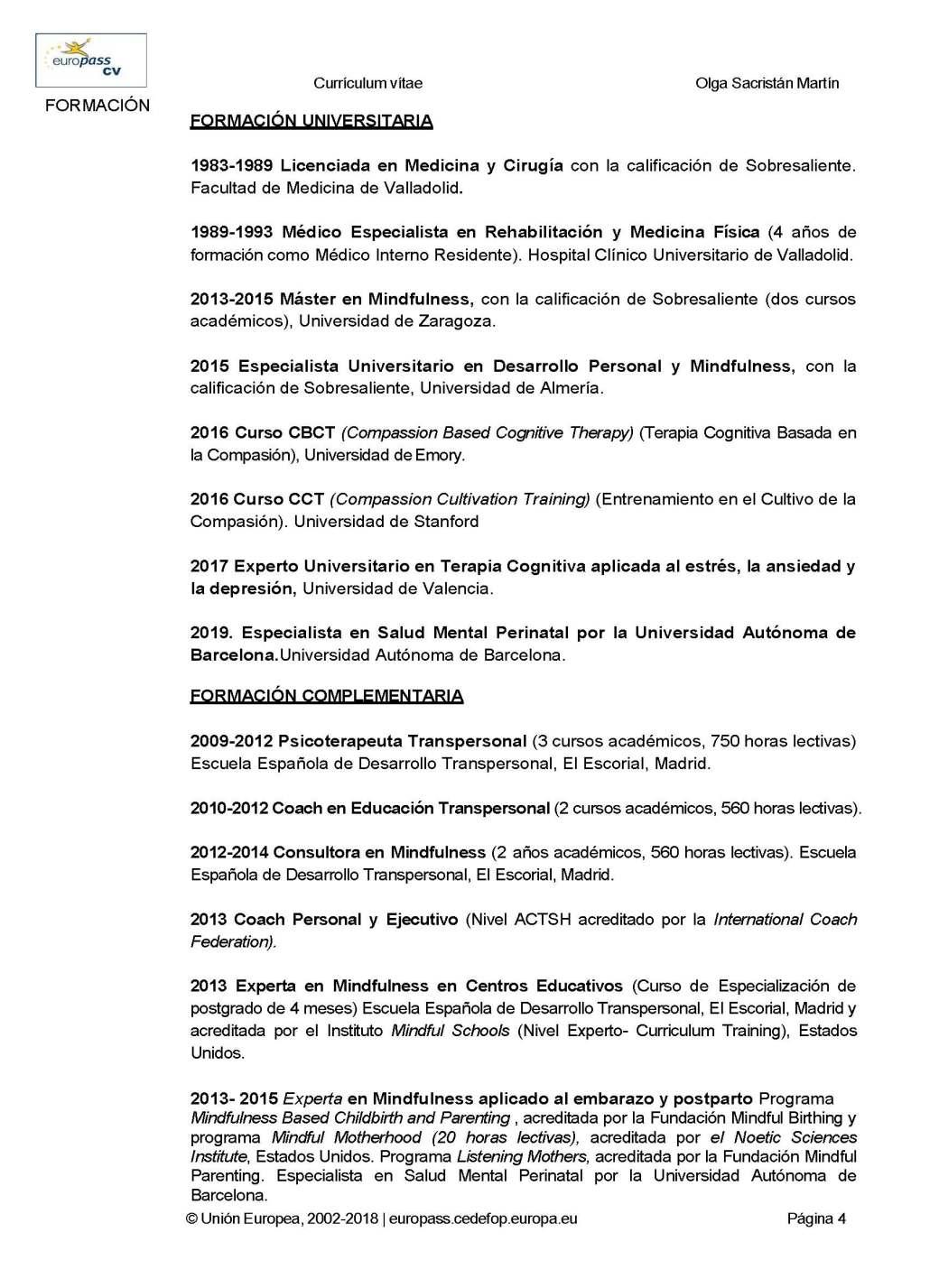 CURRICULUM EUROPASS DRA. OLGA SACRISTAN 2019_Página_04