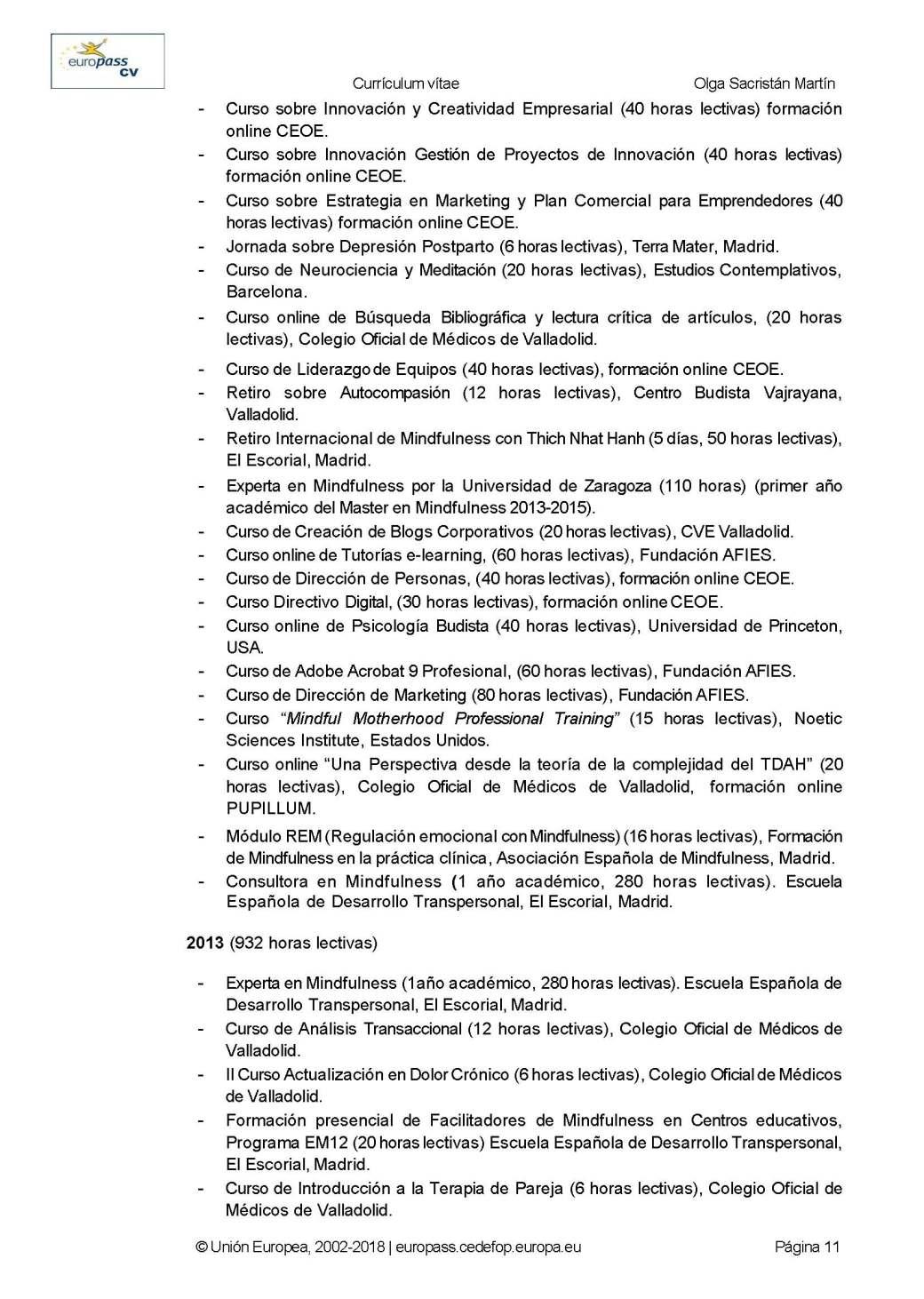 CURRICULUM EUROPASS DRA. OLGA SACRISTAN 2019_Página_11